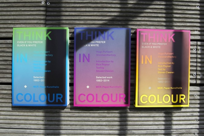 Changing colours book covers