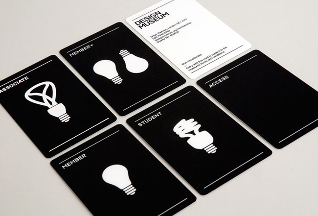 Captivating A Group Of 6 Black And White, Simplistic Membership Cards By The Design  Museum. And Membership Card Design