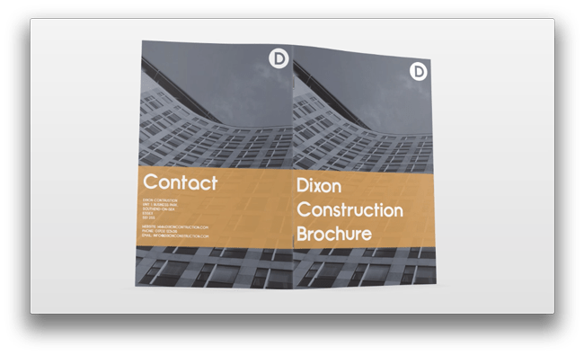 How to design a brochure in Photoshop image 12