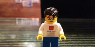 LEGO Minifig business card