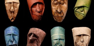 Junior Fritz Jacquet toilet paper roll masks