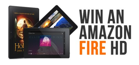 Win a 16GB Kindle Fire HD in November 2014 Competition