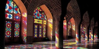 islamic geometric patterns stained glass