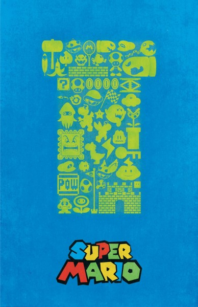 Super Mario poster by Dylan West