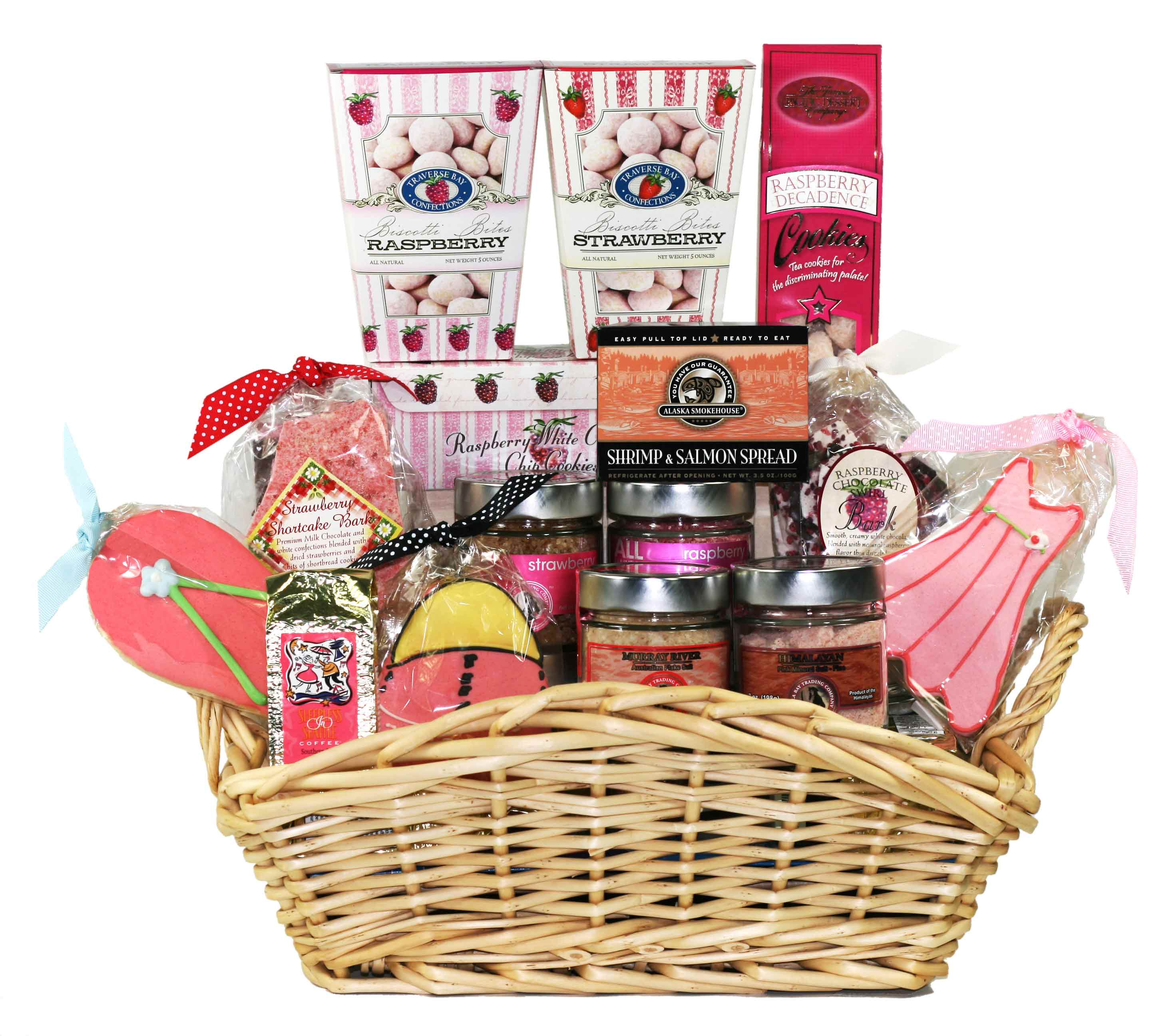 Marketing your gift basket business pink themed ideas for marketing your gift basket business negle Image collections
