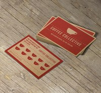 Loyalty Card on Kraft