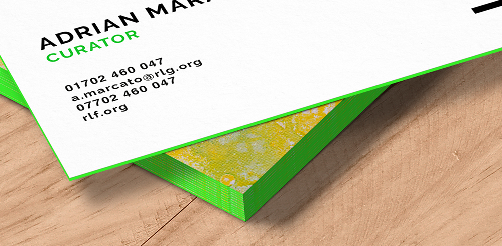 Share Some Colour: Our New Coloured Edge Business Cards