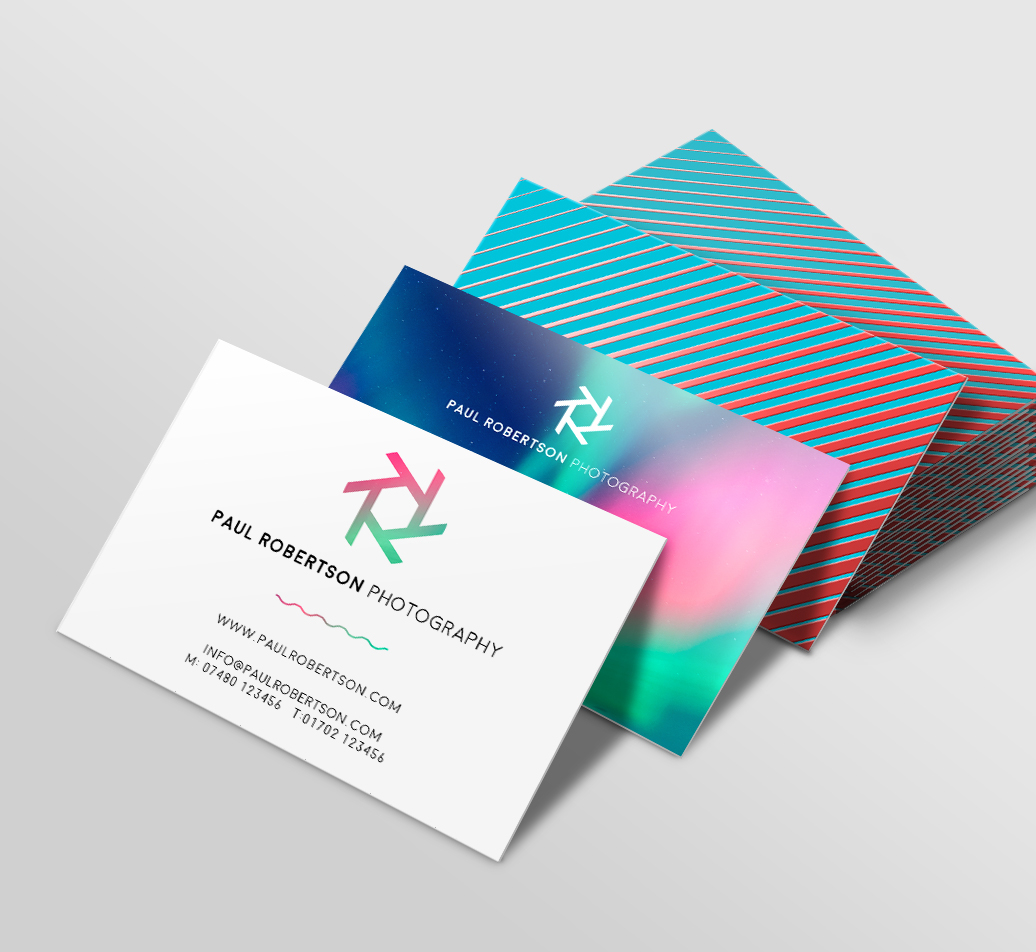 How to design a business card checklist tips solopress blog solopress landscape business cards magicingreecefo Gallery