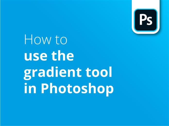 How to use the gradient tool in photoshop header image