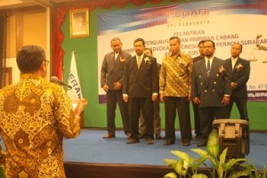 pelantikan PBH Peradi Surakarta