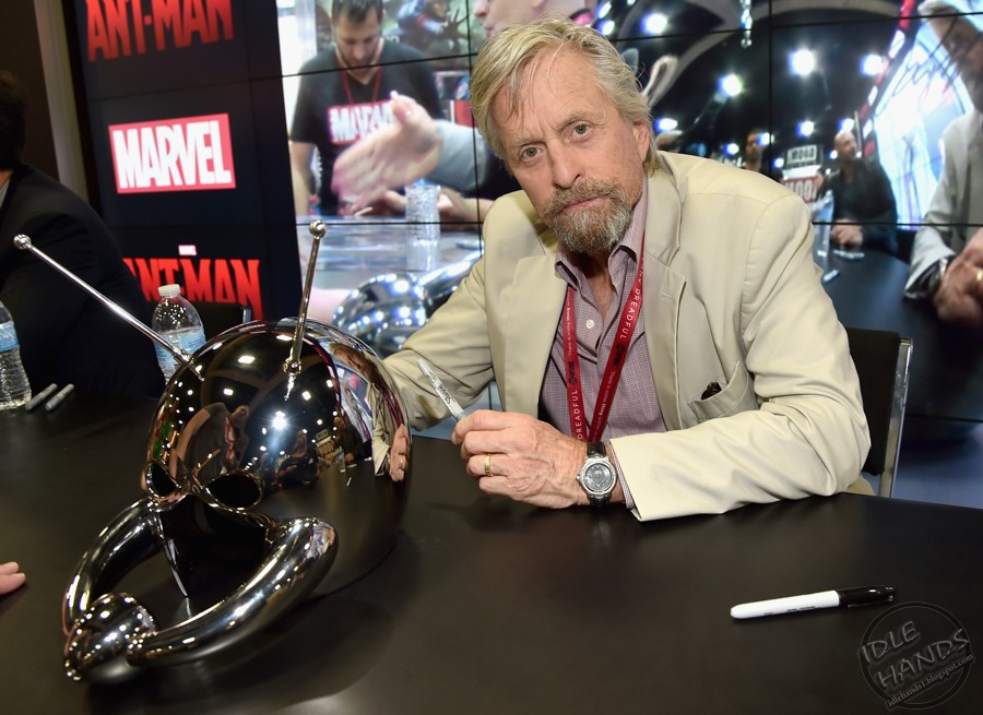 """Marvel's """"Ant-Man"""" Booth Signing During Comic-Con International 2014 (1)"""