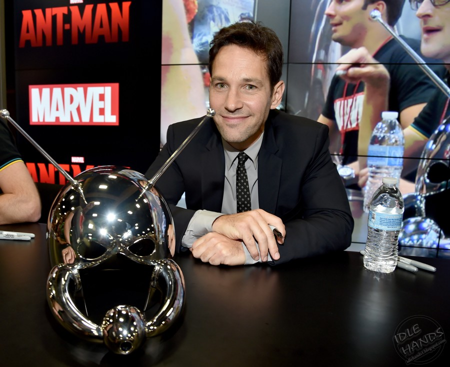"""Marvel's """"Ant-Man"""" Booth Signing During Comic-Con International 2014 (2)"""