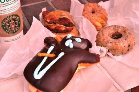 Voodoo Doughnut Breakfast, Portland, Ore.