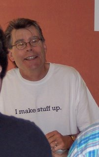 Stephen King at the New Yorker Book Festival, 2005