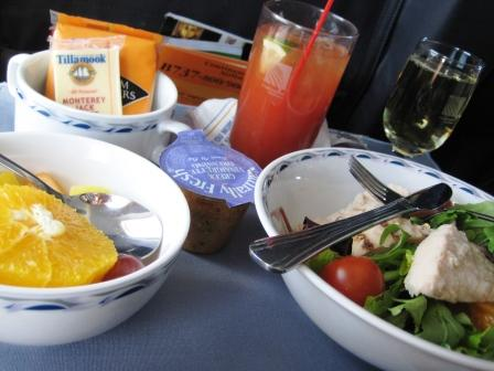 First Class Dining in the Friendly Skies