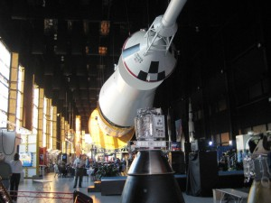 Saturn V Rocket at the U.S. Space & Rocket Center, Huntsville, Ala.
