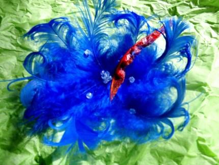 NASA Tweetup Fashion: Feather Hair Clip