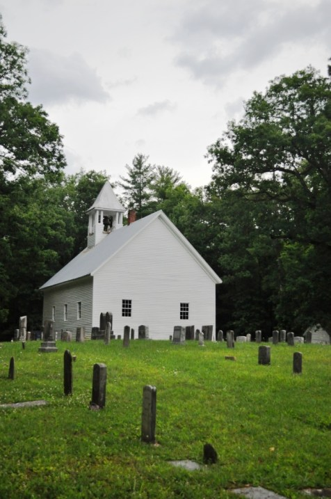 Primitive Baptist Church - Cades Cove Loop Road, Great Smoky Mountains National Park