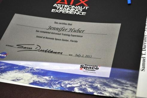 Yay! Astronaut Training Experience Diploma