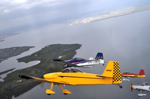 Up, Up and Away in a Kitplane with Team RV, Punta Gorda, Fla.