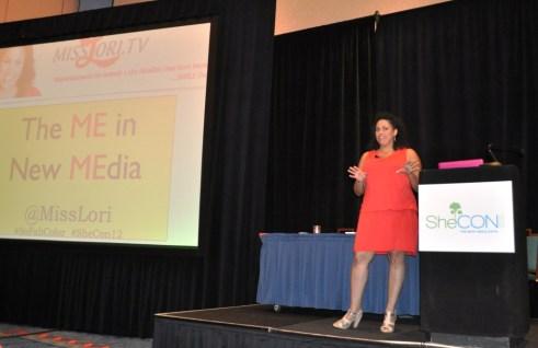 Miss Lori Rocks the Closing Keynote during SheCon 2012 at Coronado Springs Resort, Fla., May 26, 2012