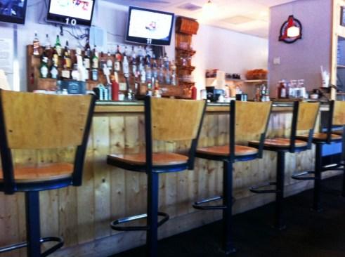 Glimpse Inside the Haywood Cafe