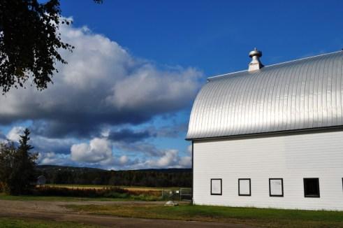 Barn at Creamer Fields Migratory Waterfowl Refuge, Fairbanks