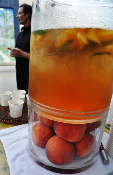 Pure Aveda Salonspa Refreshing Peach Tea, Mount Dora, Fla.