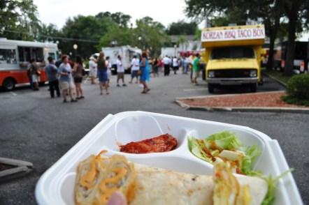 Korean BBQ Taco Box, The Food Truck Bazaar, Mount Dora, Fla.