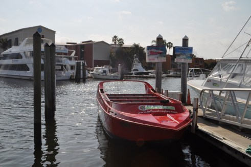 This Jet Boat Docked at Tin City in Naples Looks Innocent