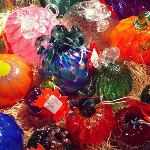 These Colorful Glass Globes in the Gift Shop Fascinated Me, Corning Museum of Glass, Corning, N.Y.