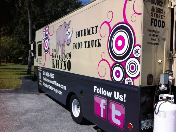 Southwest Florida Food Truck The Ravenous Rhino in Charlotte County