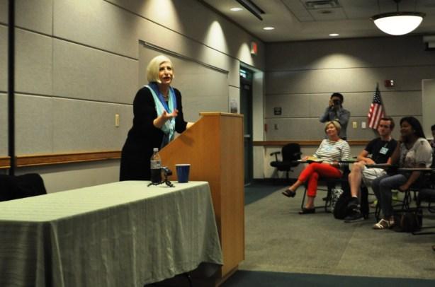 Nathalie Dupree, Keynote Speaker at USFSP Florida Food Conference, April 5, 2014