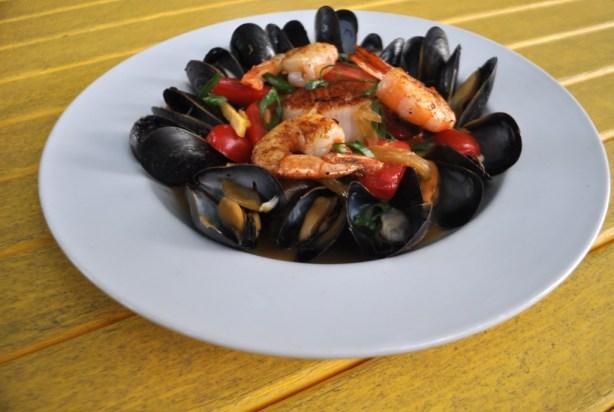 I *think* My Food Photography is Improving. Trabue Restaurant, Punta Gorda, Fla.