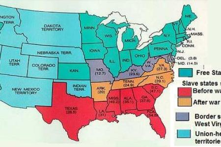 map exercise slave states and free states » Free Wallpaper for MAPS ...