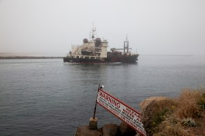 Shipping lanes at Morro Bay