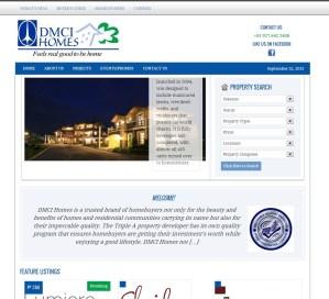 DMCI Homes Website