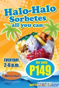 Beat the Summer Heat with Marina's Halo-Halo Sorbetes All You Can