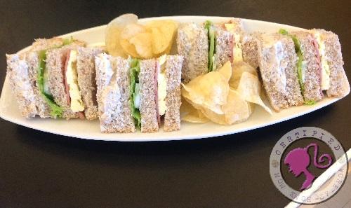 Qaldi Chicken Clubhouse Sandwich