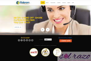 Top Executives attended Elabram Systems Website Launch in the Philippines