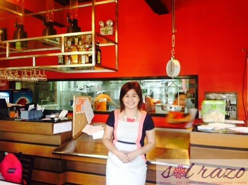 Marina Oysters Seafood Grill Sales Head Maribeth Martinez
