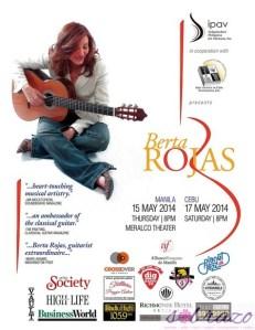 BERTA ROJAS LIVE IN MANILA ON MAY 15