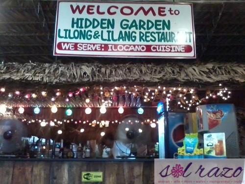 Lilong and Lilang Restaurant at Hidden Garden
