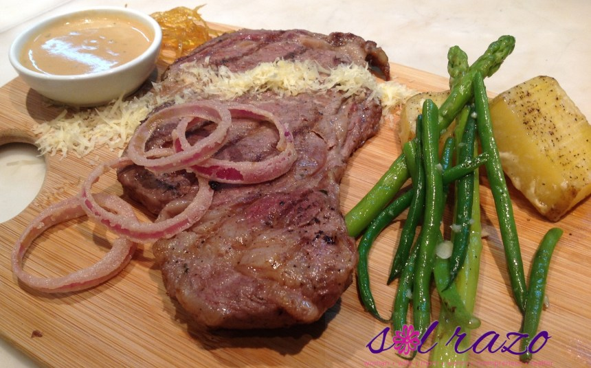 Bruce Lim's Rustique Kitchen Grilled Beef Steak