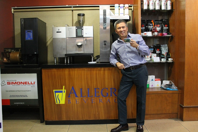 Allegro Beverage Corporation President Leo De Leon