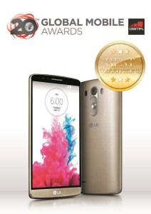 LG G3: Crowned as Best Smartphone of the Year
