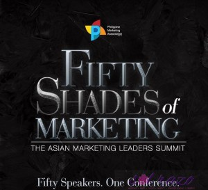 50 Shades of Marketing: Fifty speakers in one conference