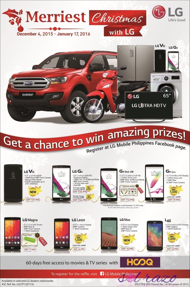 Ford Everest's 'Merriest Christmas with LG' promo
