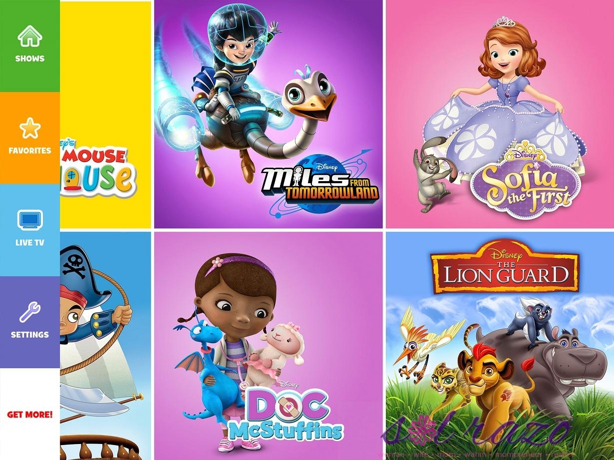 Disney Channesl Apps