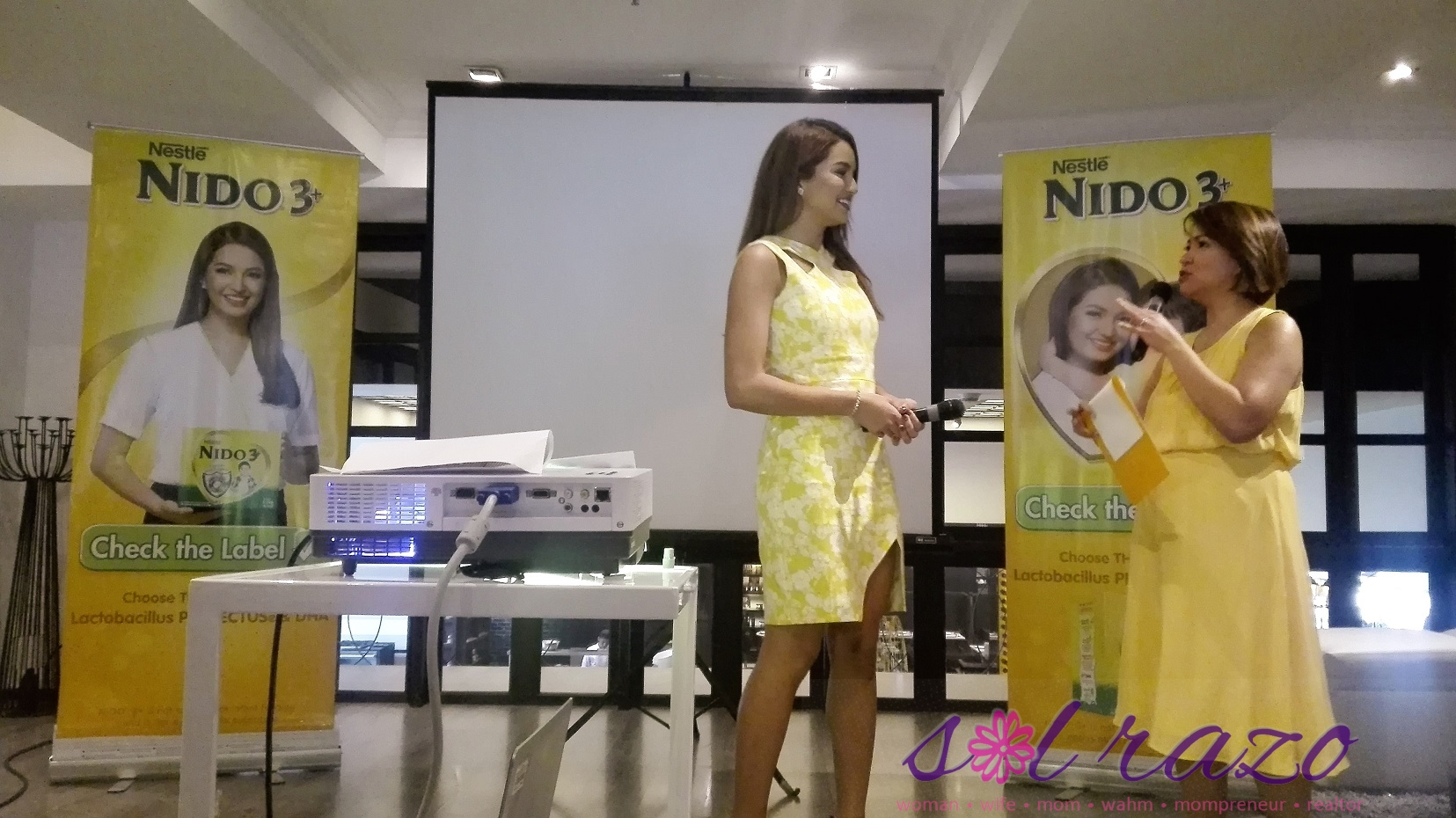 Sarah Lahbati Nido 3+